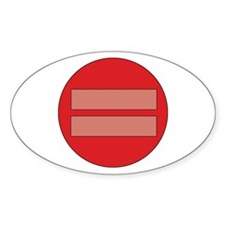 Equality symbol Decal