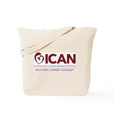 ICAN 2014 logo Tote Bag