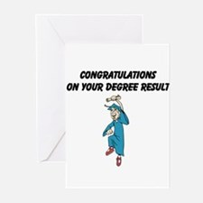 Congratulations on degree Greeting Cards