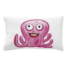 Pink Octopus Pillow Case