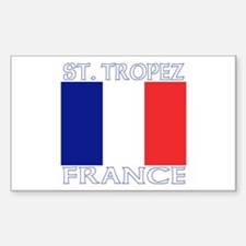 St. Tropez, France Rectangle Decal