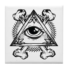 Eye In Tile Coaster
