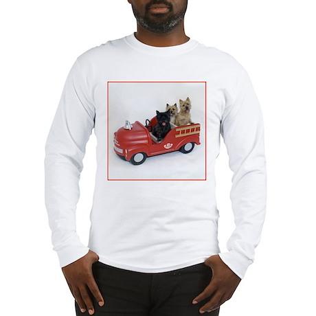 CairnTerrier Fire Crew Long Sleeve T-Shirt
