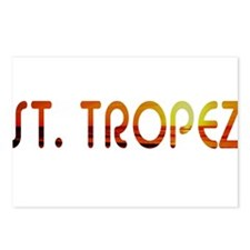 St. Tropez, France Postcards (Package of 8)