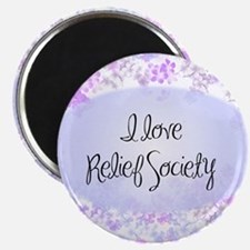 I love Relief Society Magnet