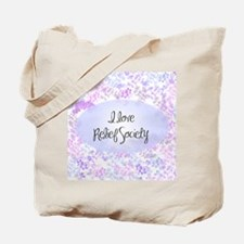 I love Relief Society Tote Bag