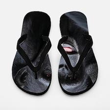 Black Monkey Flip Flops