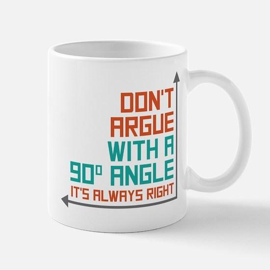 90 Degree Angle Mug
