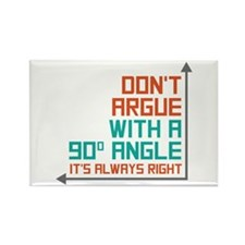 90 Degree Angle Rectangle Magnet (100 pack)
