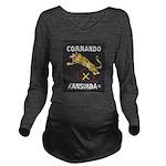 Kansimba Commando Long Sleeve Maternity T-Shirt