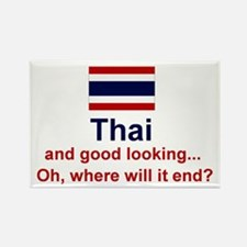 Good Looking Thai Rectangle Magnet