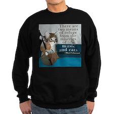 Cats and Music Sweatshirt