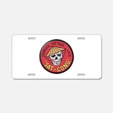 Sat-Cong Kill Communists Aluminum License Plate