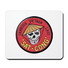 Sat-Cong Kill Communists Mousepad