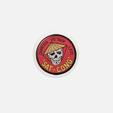 Sat-Cong Kill Communists Mini Button