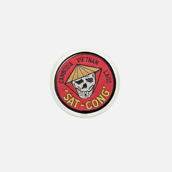 Sat-Cong Kill Communists Mini Button