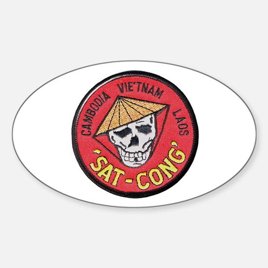 Sat-Cong Kill Communists Decal