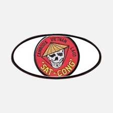 Sat-Cong Kill Communists Patches