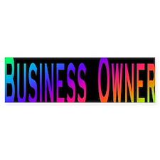 Business Owner Bumper Bumper Sticker