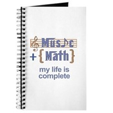 music and math Journal