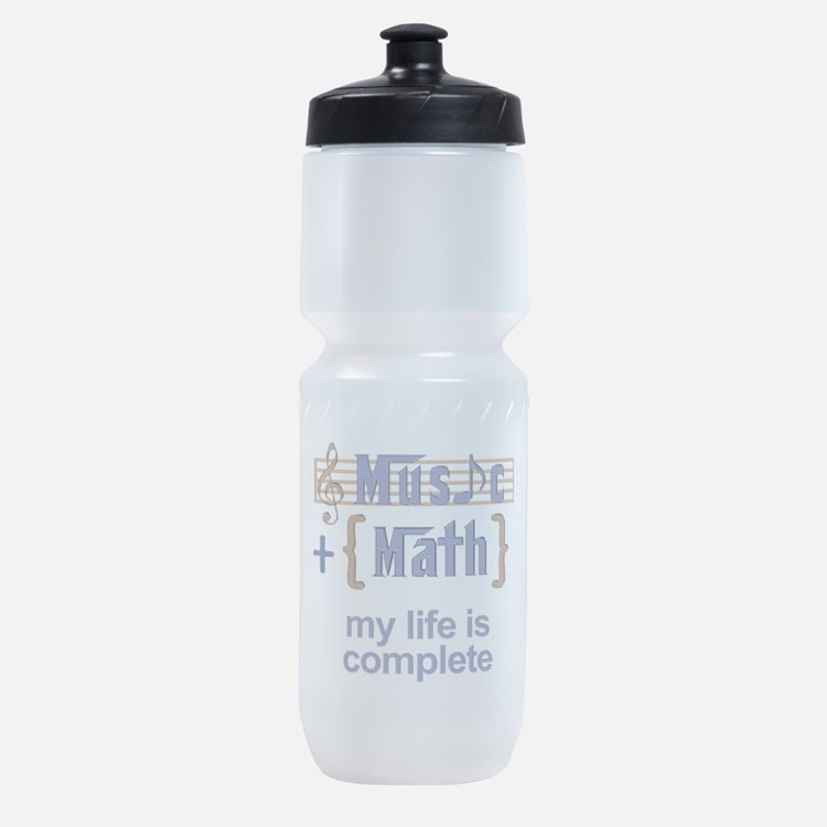 music and math Sports Bottle