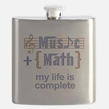 music and math Flask