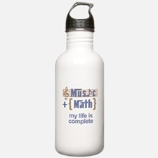 music and math Water Bottle