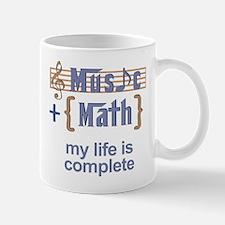 music and math Mugs