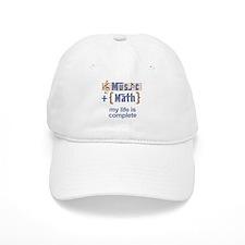 music and math Baseball Hat