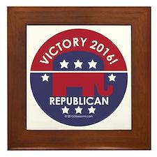 Republican Victory 2014 Framed Tile
