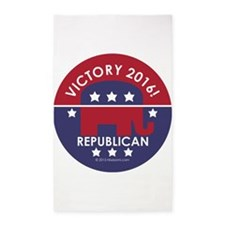 Republican Victory 2014 3'x5' Area Rug