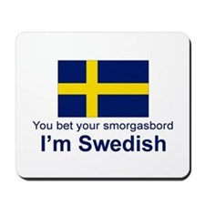 Swedish Smorgasbord Mousepad