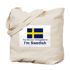 Swedish Smorgasbord Tote Bag