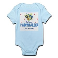 Future Paintballer like Daddy Baby Body Suit