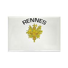 Rennes, France Rectangle Magnet