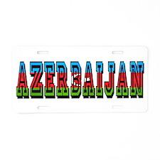Azerbaijan Aluminum License Plate