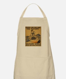 Vintage war effort rowing Apron