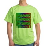 Money Answers Green T-Shirt