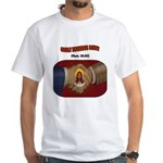 Godly Business Savvy White T-Shirt