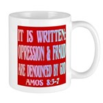 Oppression & Frued Denounced Mug