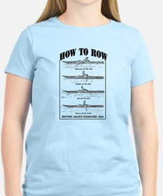 Vintage - How to Row T-Shirt