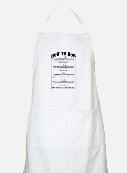 Vintage - How to Row Apron