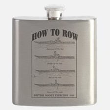 Vintage - How to Row Flask