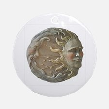 Moon & Sun Ornament (Round)