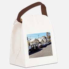 Golf Cart Row Canvas Lunch Bag