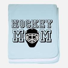 Hockey Mom baby blanket