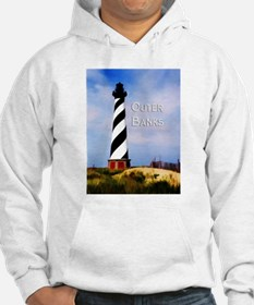 Cape Hatteras Lighthouse Poster Text Outer Banks H