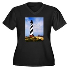 Cape Hatteras Lighthouse Poster Text Outer Banks P