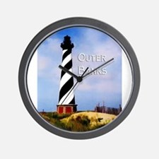 Cape Hatteras Lighthouse Poster Text Outer Banks W