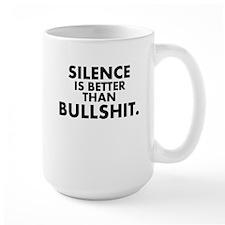 Silence is better than.. Mugs